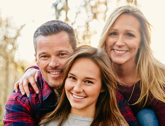 Wayne Family Dental | Smiling Family